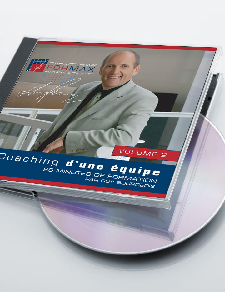 Conférencier, formateur en vente et leadership - Guy Bourgeois