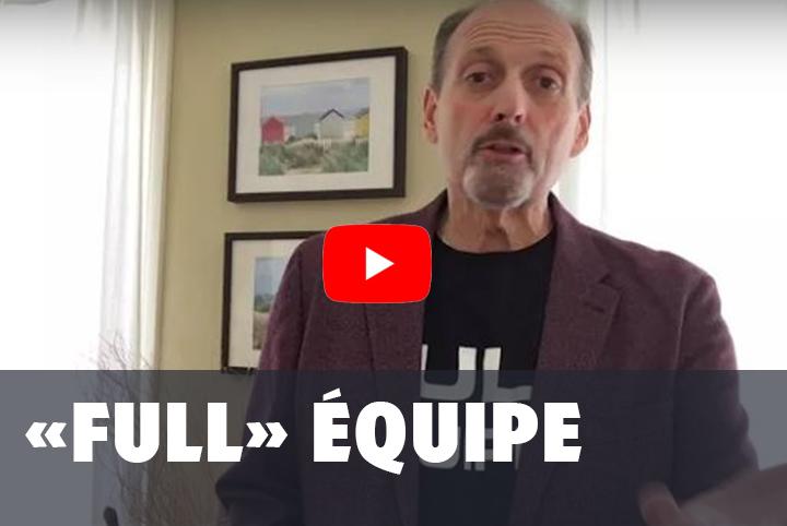 """Formation publique """"Full"""" Équipe"""
