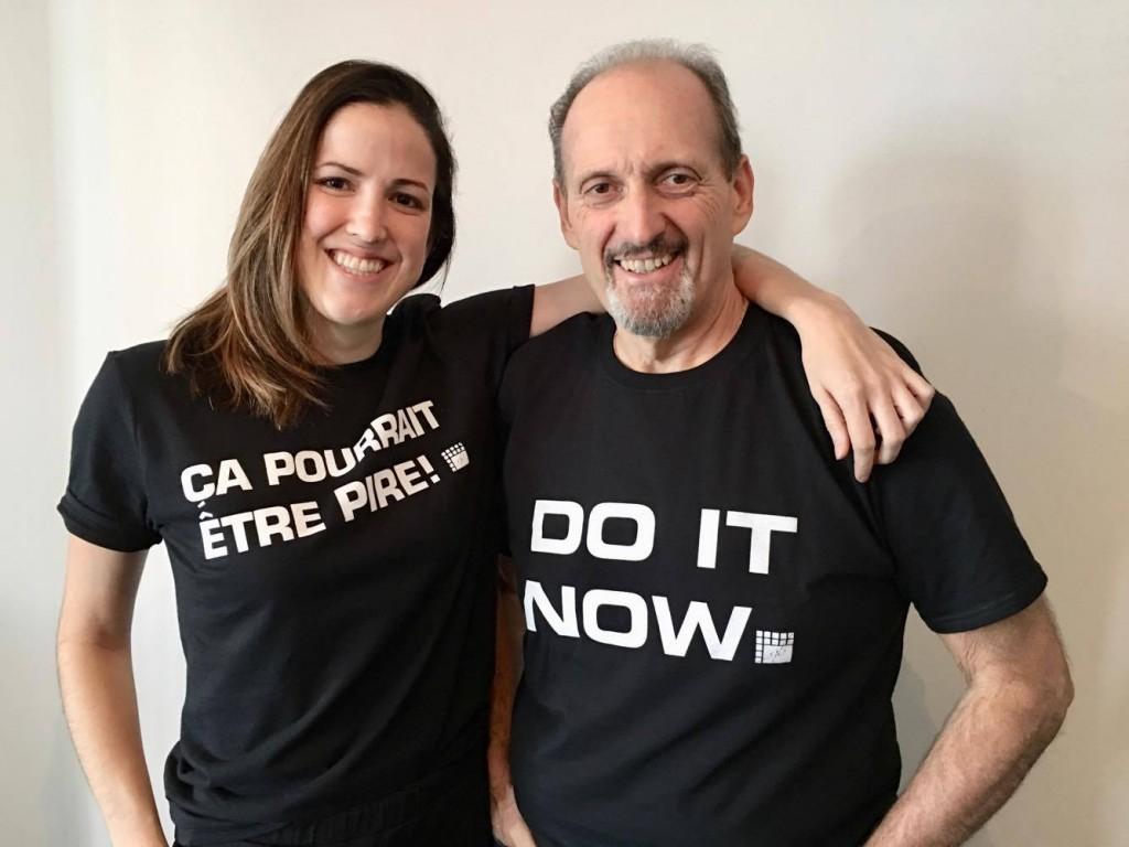 Duo-T-shirt